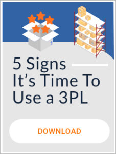 5 Signs It's Time to Use a 3PL